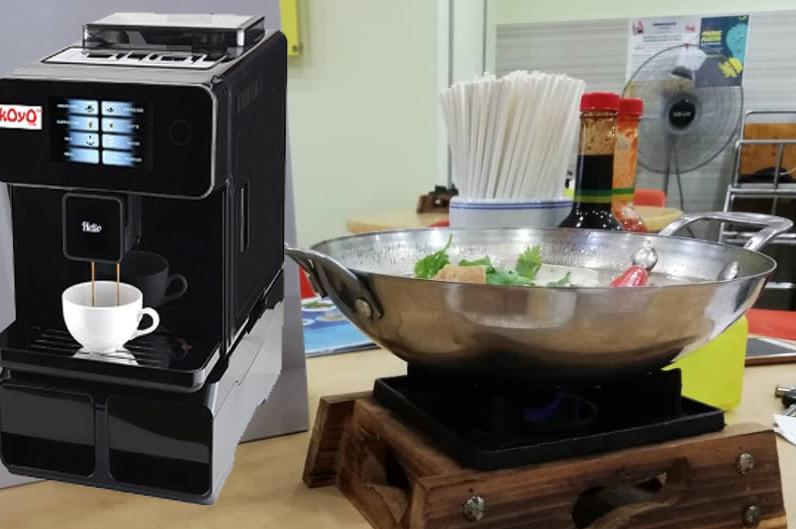 Koyo Coffee Machine Customer: Taipan Yong Tau Foo