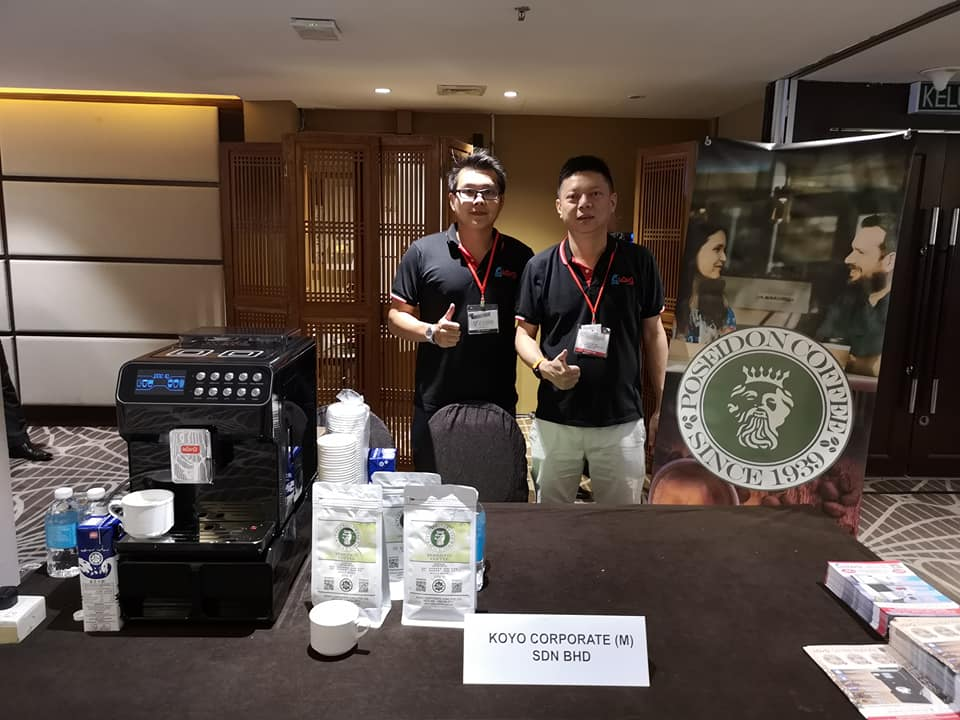 2019 Poseison Coffee in Sabah MIFB Fair