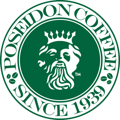 poseidon coffee logo