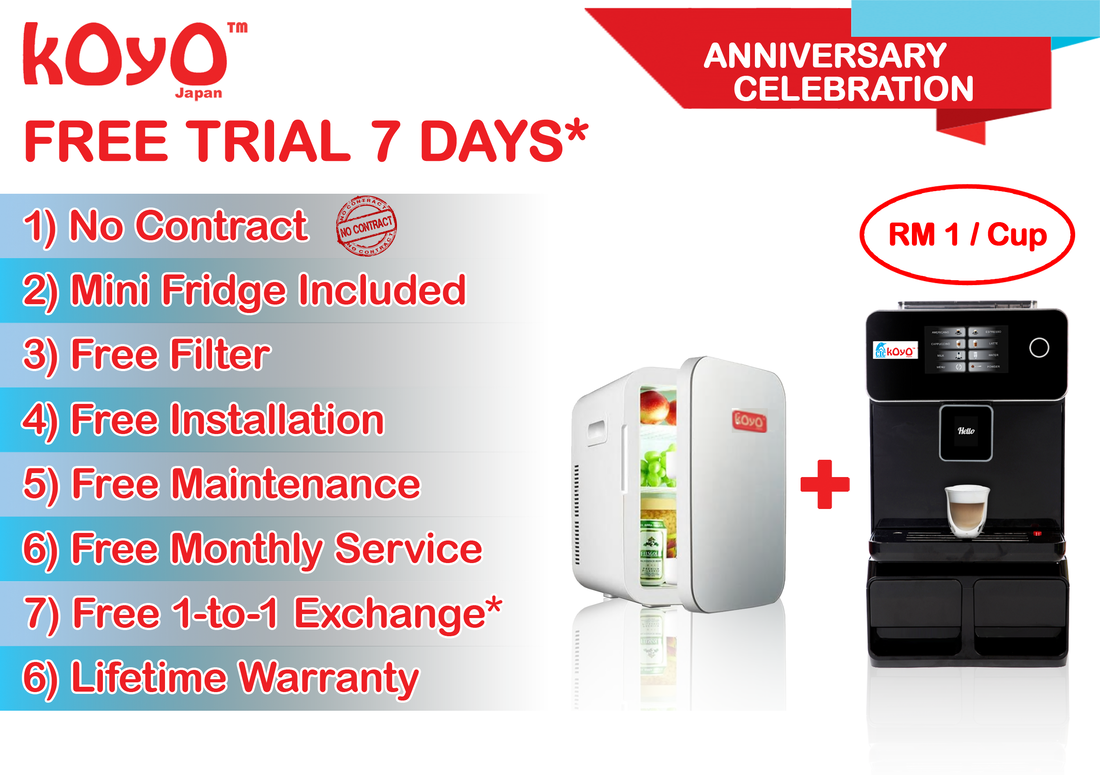 Koyo Coffee Machine Promotion