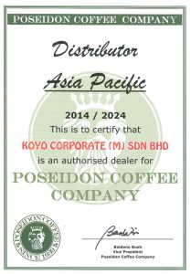 Poseidon Coffee Malaysia Distributor - Koyo Coffee Machine