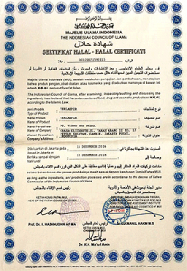 Poseidon Coffee - Halal Certificates 02