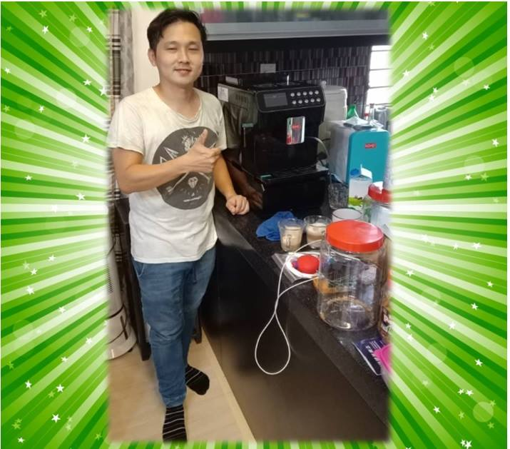 2019 Coffee Machine Rental Koyo Customer in Rawang
