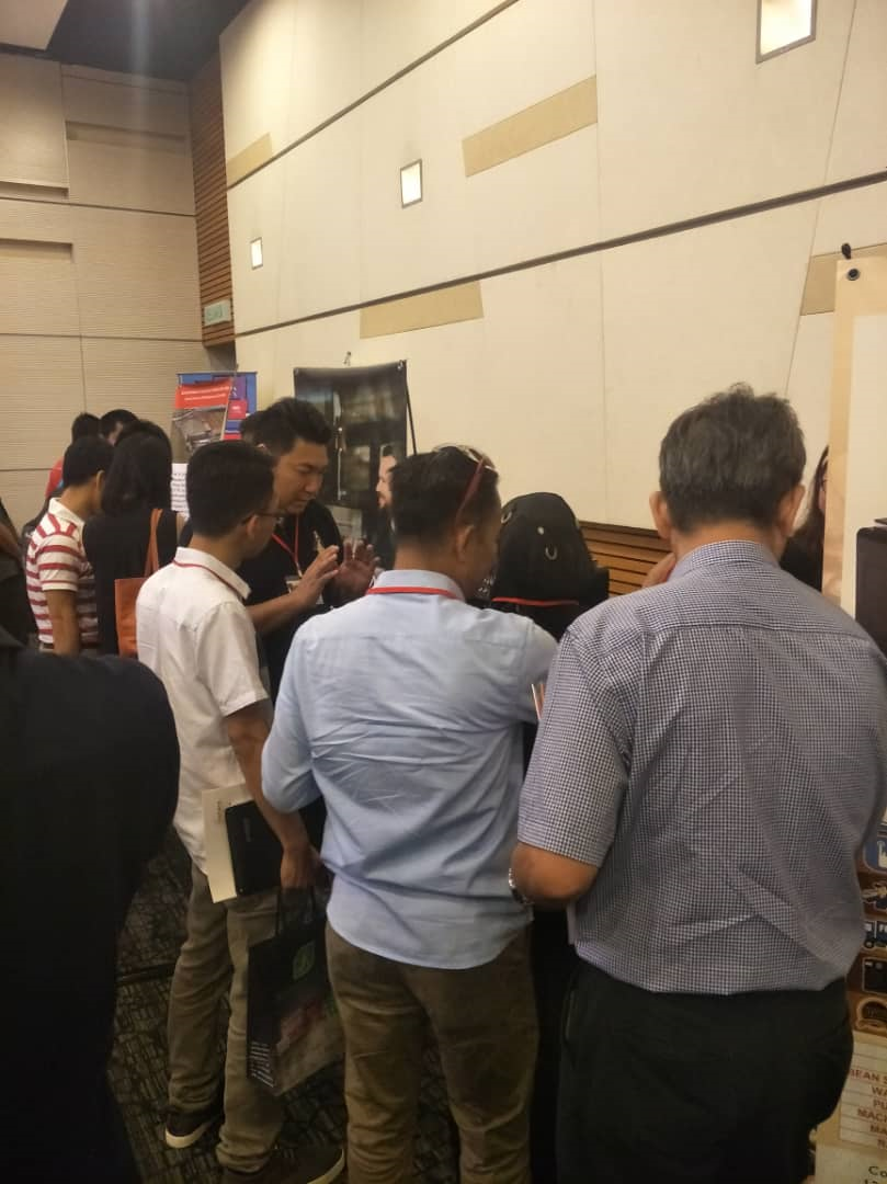 2019 Kuching Coffee Fair - Koyo Coffee Machine - Poseidon Coffee