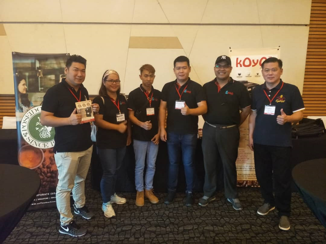 2019 Kuching Coffee Fair - Koyo Coffee Machine - Poseidon Coffee