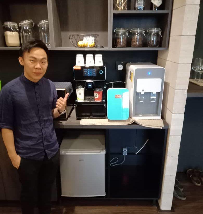 KOYO Automatic Coffee Machine Customer in Cheras Kuala Lumpur