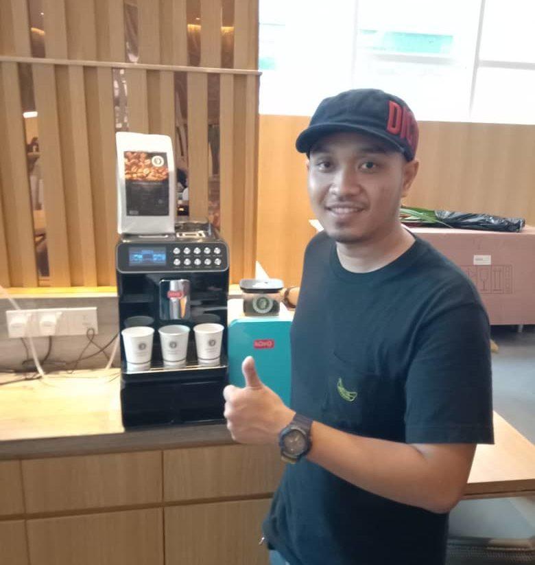 Koyo Coffee Machine Customer - Oasia Hotel