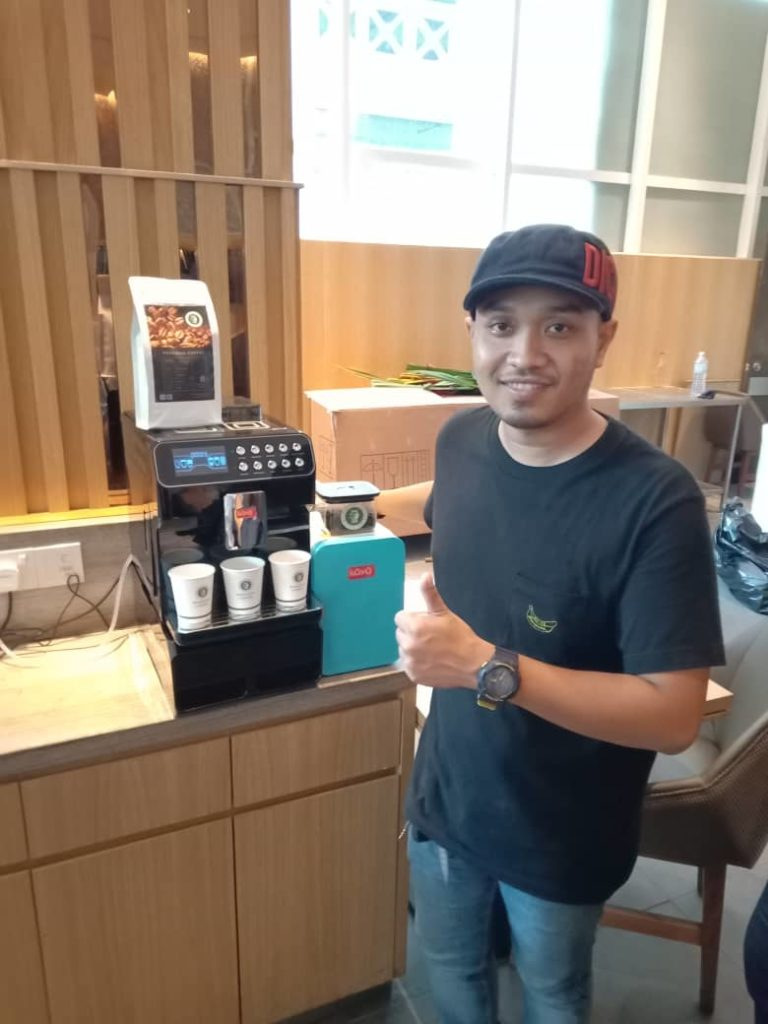 Koyo Coffee Machine Customer - Oasia Hotel