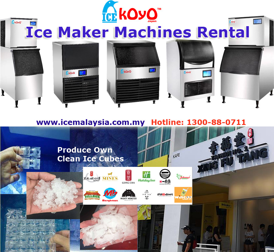 Koyo Ice Maker Machine for Rent
