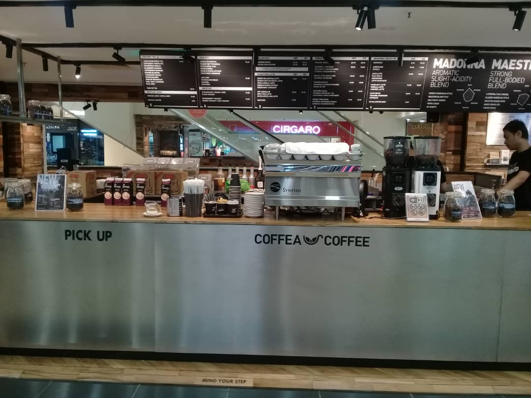Coffeea Coffee Plaza Shah Alam - Koyo Coffee Machines